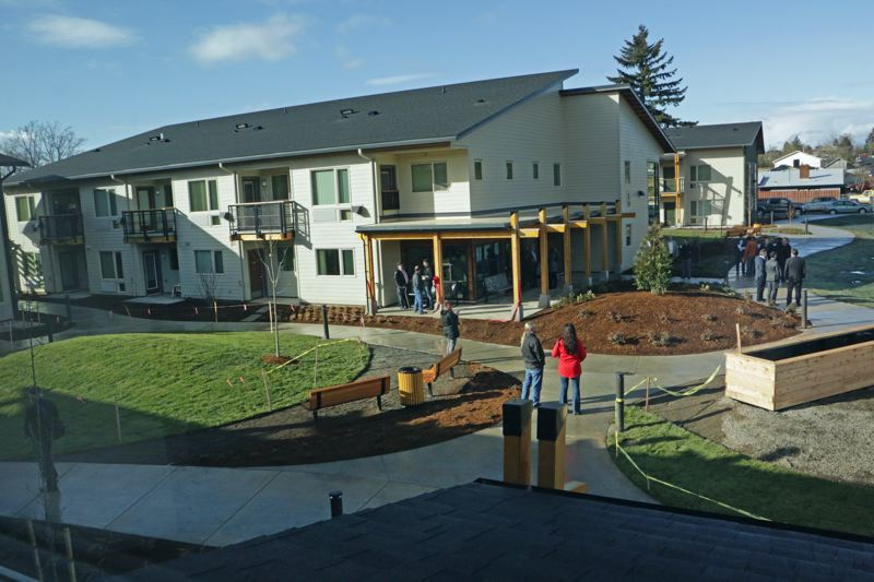 COURTESY GUARDIAN REAL ESTATE SERVICES - The new NAYA Generations affordable housing project in Lents, where foster children live with their grandparents.