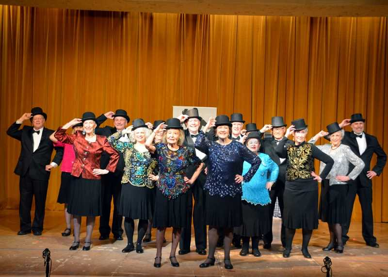 NORTHWEST SENIOR THEATRE: RON TENNISON - The song 'If I Didn't Have You' includes a troupe trying to dance, but the Northwest Senior Theatre's spring show, 'The Winner Is.' includes lots of polished dancing as well.