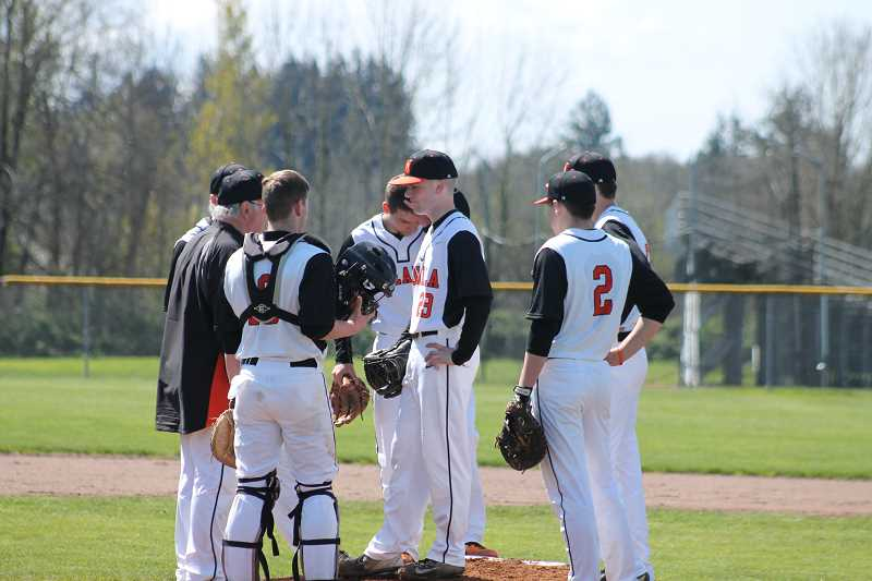 Molalla baseball swept by Gladstone