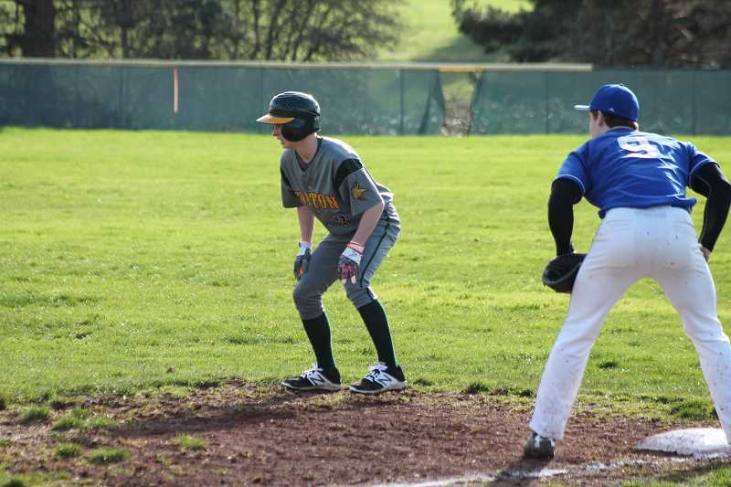 Colton baseball stomps Gervais 12-2 for momentum swing