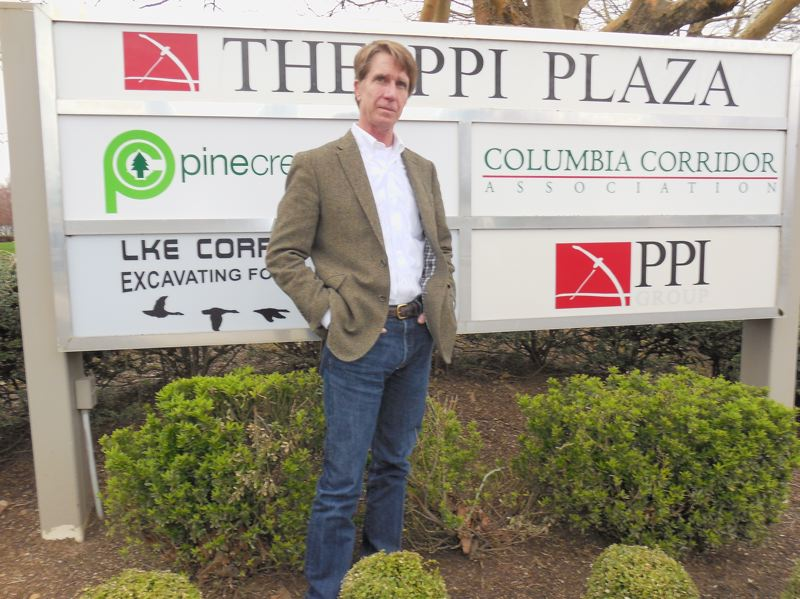 PAMPLIN MEDIA GROUP: JOSEPH GALLIVAN - Corky Collier, executive director of Columbia Corridor. His turf runs from Kelly Point Park to Sandy, and his mission involves balancing environmental concerns with industrial interests, many of which he insists provide family wage jobs for people east of I-205.