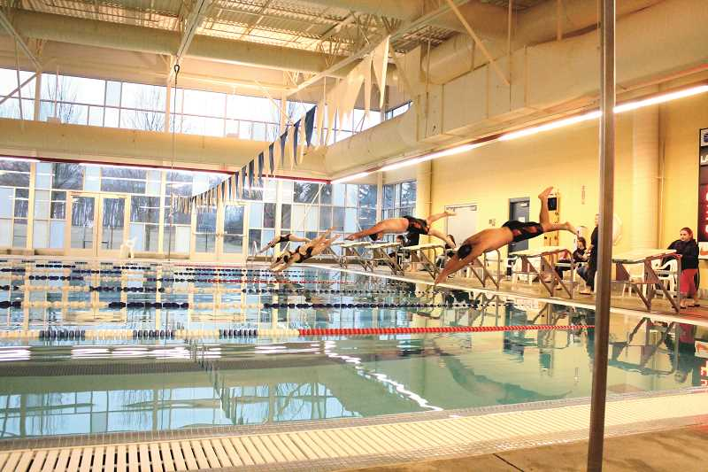 PIONEER FILE PHOTO - Molalla Aquatic Center