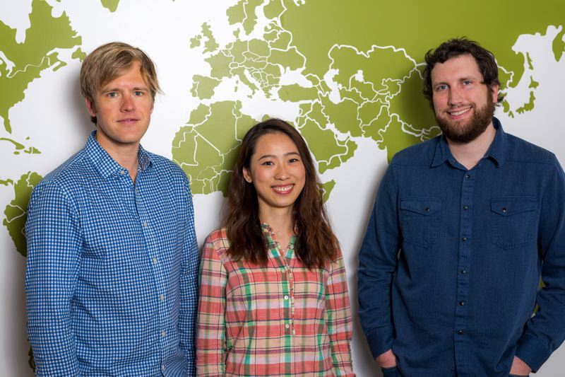 COURTESY: VACASA - (Left to right) Travis Green, Product Lead, Chen Chen, Data Scientist and Nick Mote, Machine Learning Expert.
