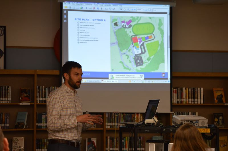 Public views new St. Helens Middle School design concepts
