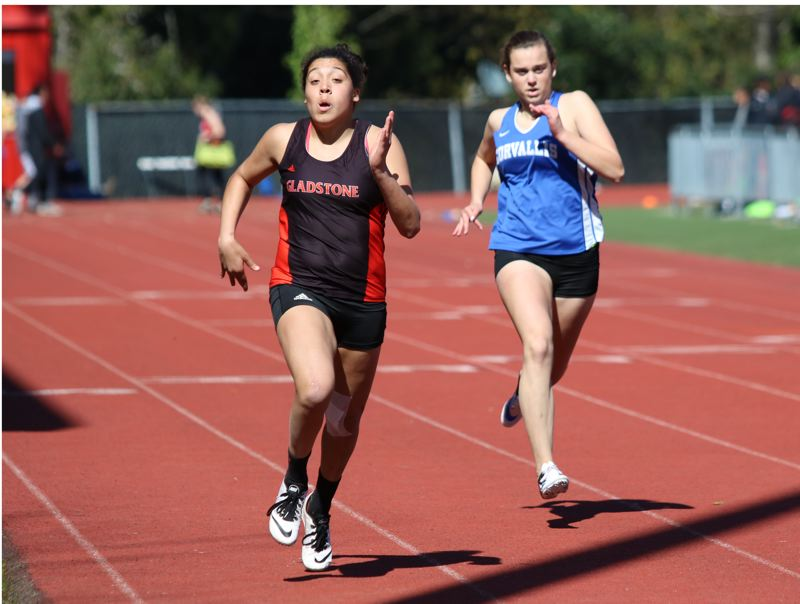 Gladstone's Grace Campbell a force on track, in field