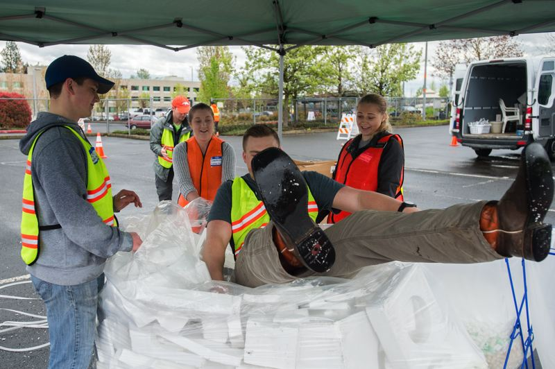 IN PHOTOS: City of Gresham hosts Earth Day recycling
