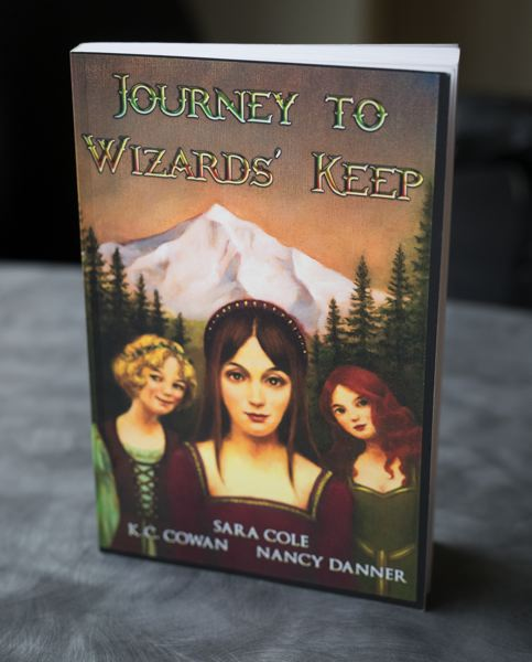PAMPLIN MEDIA PHOTO: JAIME VALDEZ - Sequel to 'Journey to Wizards' Keep' will be available in July.