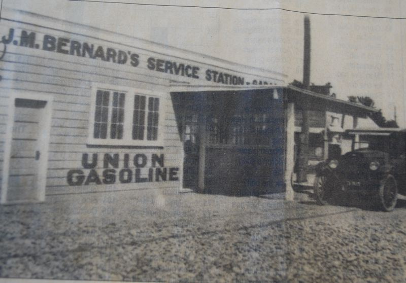 SUBMITTED PHOTO - When Bernard's Garage opened in downtown Milwaukie in 1925, it repaired as many pieces of farm equipment as it did cars.