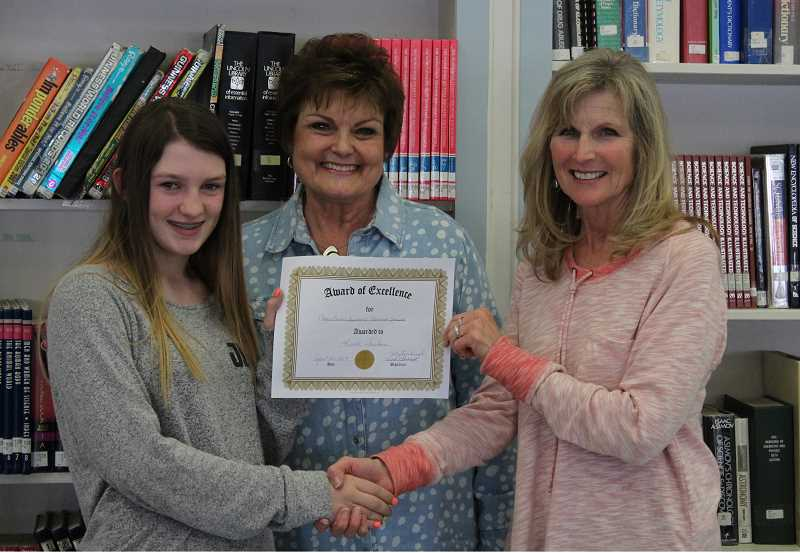 Top speller from local middle school heading to state