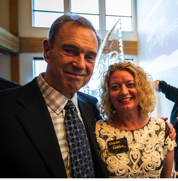 SUBMITTED: CASEY BRAUNGER, ANKROM MOISAN ARCHITECTS - Tom Moisan and wife Susan Golden plan to take a four-year cruise around the world next.