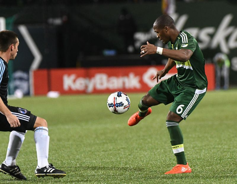 Confident Nagbe thriving in attack