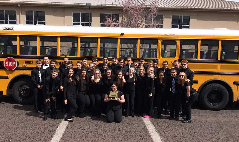 MHS Wind Ensemble top winnter at districts
