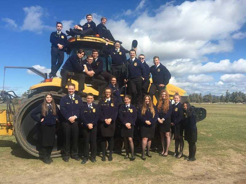 Molalla FFA wins big at state
