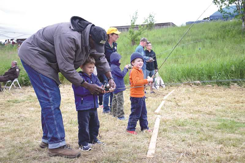 SUBMITTED PHOTO  - Celebrate spring at the annual Tualatin Bird Festival May 20 with plenty of kids activities.