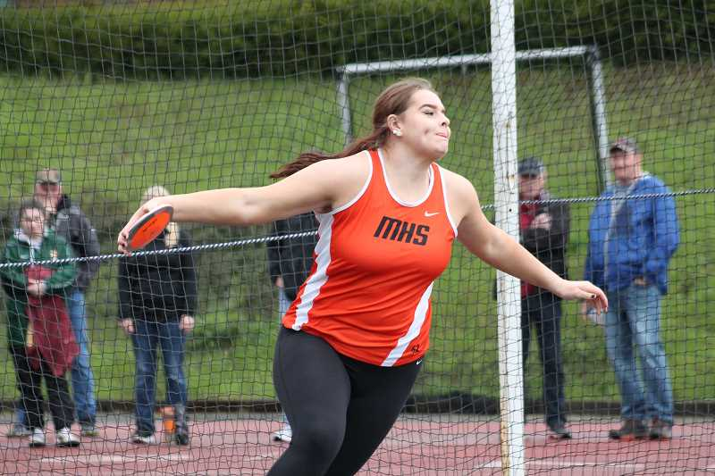 Molalla track shines among large programs at Wilsonville meet