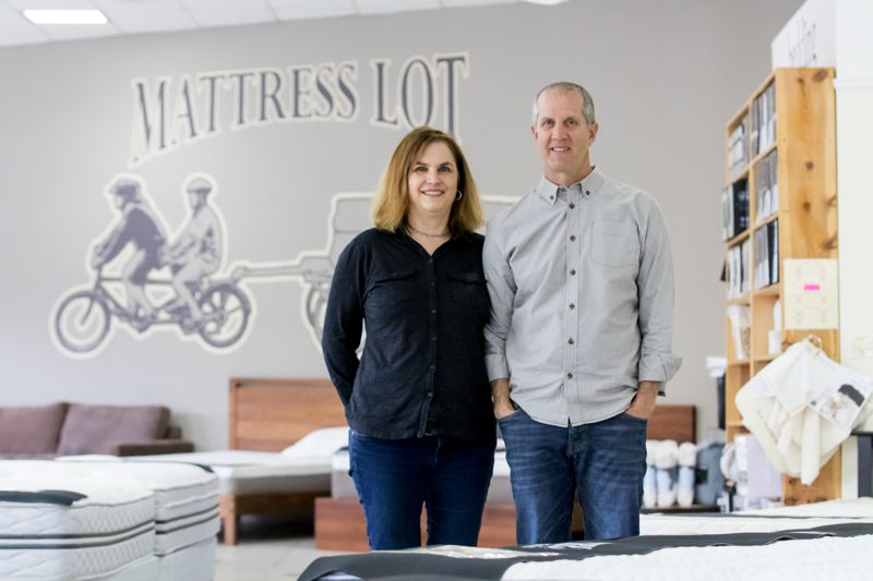PAMPLIN MEDIA GROUP: JONATHAN HOUSE - Mary Ruth and Michael Hanna, owners of the Mattress Lot.