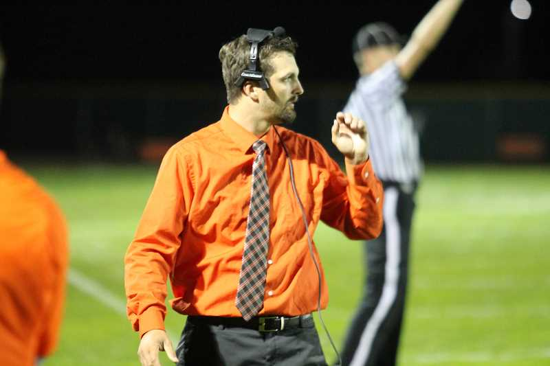 Boustead resigns as Molalla's football coach