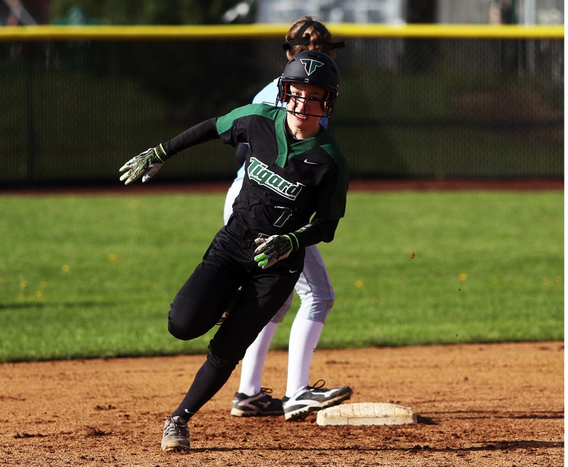 Youth is served with Tigard softball team