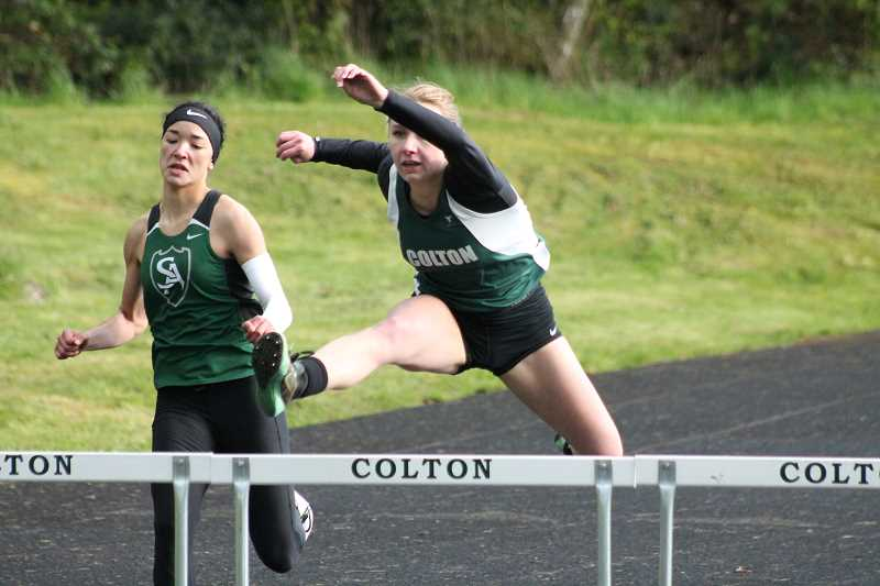 Colton track hosts home meet