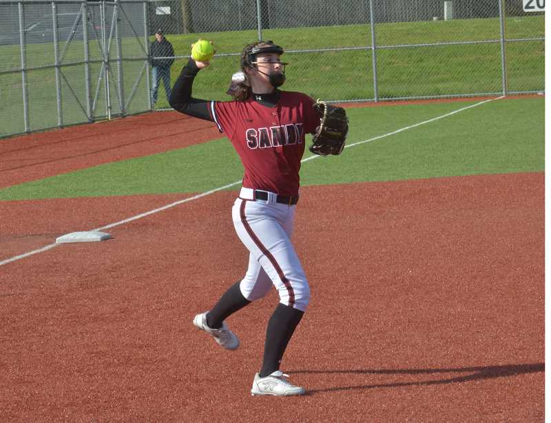 Softball: Sandy holds on to defeat Wilsonville in important league battle