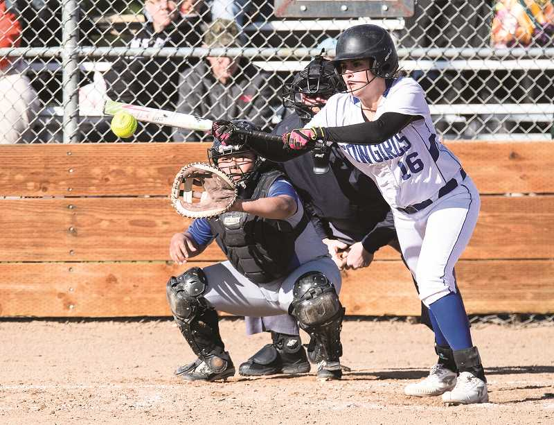 Cowgirls come back from early deficit to whip White Buffalos