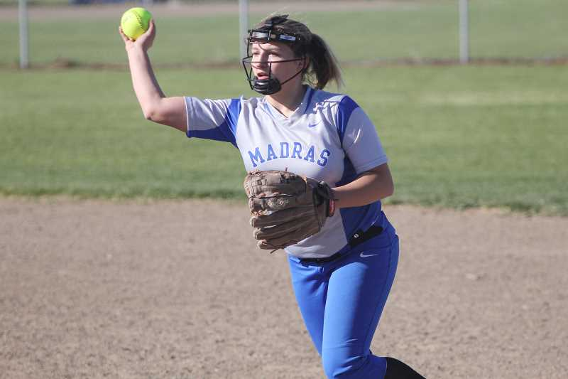 Crook County softball blanks Madras 8-0