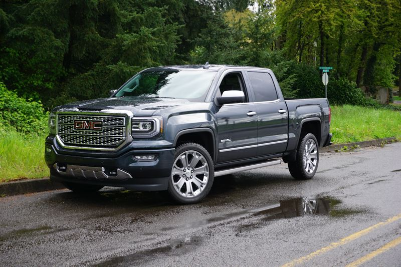 PORTLAND TRIBUNE: JEFF ZURSCHMEIDE - The 2017 GMC Sierra Denali offers both top-shelf luxury and a long list of practical features from 4WD to an integrated trailer brake controller.