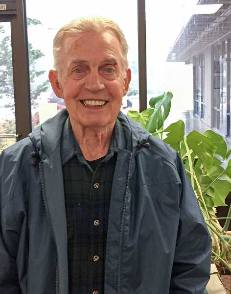 ESTACADA NEWS PHOTO: EMILY LINDSTRAND - Eagle Creek resident Skip Heberden has been involved with the Estacada Farmers Market for many years.