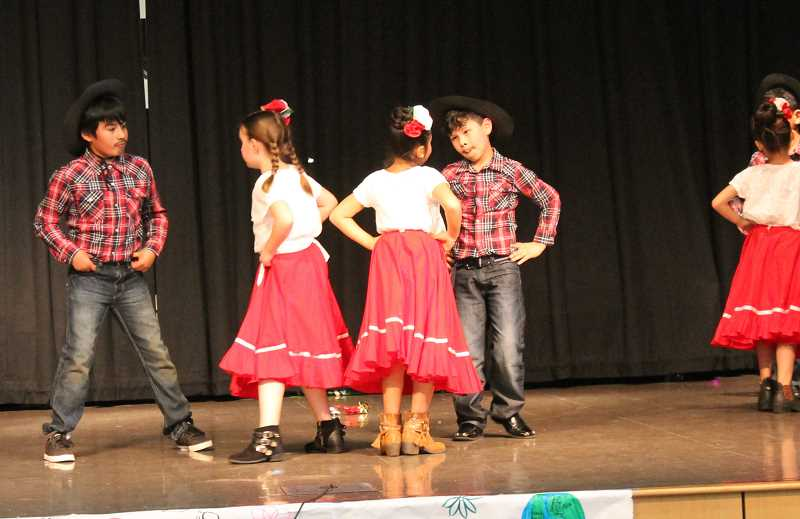 SPOKESMAN PHOTO: ANDREW KILSTROM - Lowrie Primary students show off their talents Friday, April 28.
