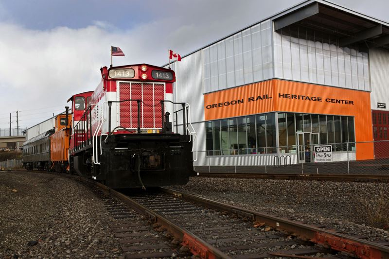 PORTLAND TRIBUNE: JAIME VALDEZ - The Oregon Rail Heritage Center, which features the Southern Pacific 4449, will host Portland Train Day on Saturday, May 6.