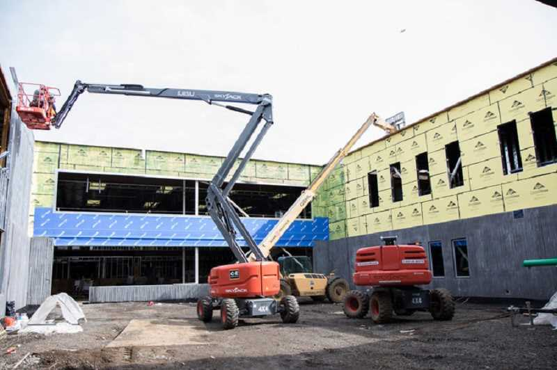COURTESY BEAVERTON SCHOOL DISTRICT - Construction on Vose's new building, the largest elementary school building in the district, will wrap up this summer.