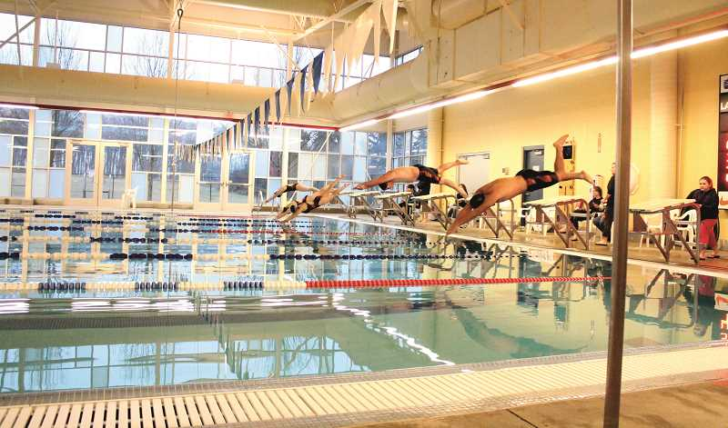 PIONEER FILE PHOTO - The community has been locked out of the Molalla Aquatic Center since city of Molalla administrators closed it down in 2014. Measure 3-516 would reopen the pool for Molalla school district residents by creating a Molalla Aquatic District.