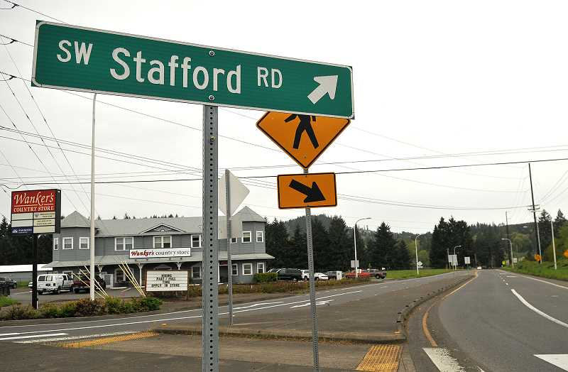 TIDINGS PHOTO: VERN UYETAKE - If Stafford land is indeed to be developed over the coming decades, the cities want one thing to be clear: They will be in charge of that development.