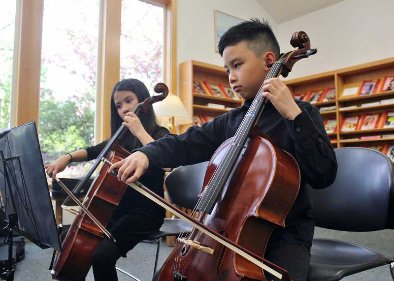 Young musicians produce the sounds of Stafford