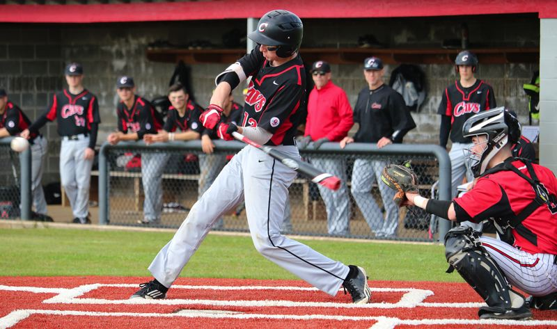 PMG PHOTO: JIM BESEDA - Clackamas' KC Reilly and the Cavaliers are currently the top-ranked team in Oregon Class 6A high school baseball.