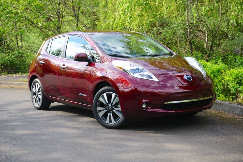 PORTLAND TRIBUNE: JEFF ZURSCHMEIDE - The styling of the 2017 Nissan Leaf is largely unchanged from last year, which means people will know you're driving something different because it doesn't look like anything else on the road.