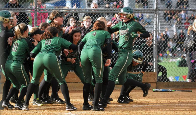 Jesuit softball answers the bell, beats Westview