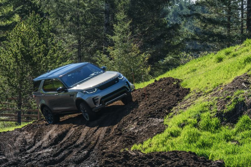 NWAPA/JOSH MACKEY - The 2017 Land Rover Discovery HSE Luxury was named the Northwest Activity Vehicle of the Year at Mudfest 2017. It also won in the Best Extreme Capabilityn category.