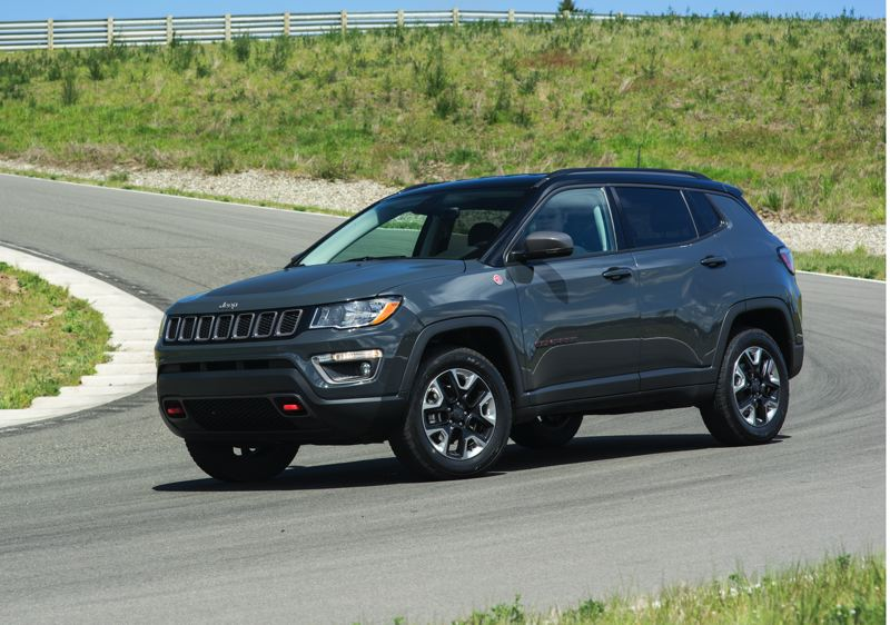 NWAPA/JOSH MACKEY - Best Compact: 2017 Jeep Compass Trailhawk