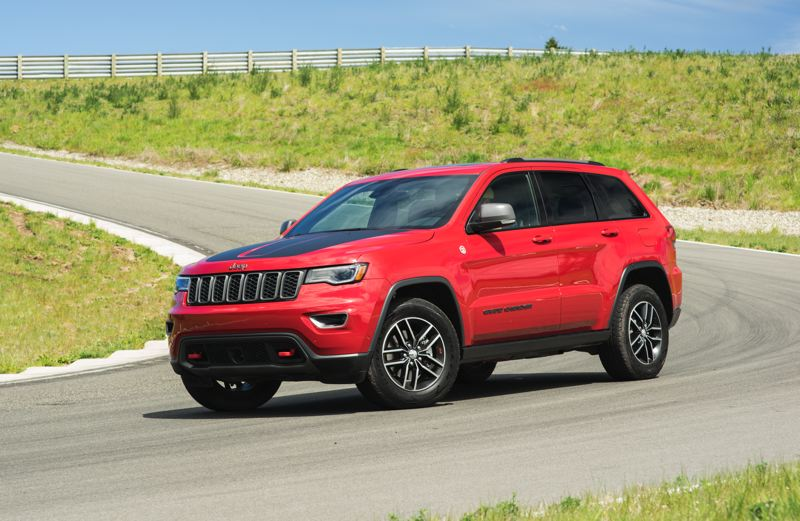 NWAPA/JOSH MACKEY - Best Premium: 2017 Jeep Grand Cherokee Trailhawk