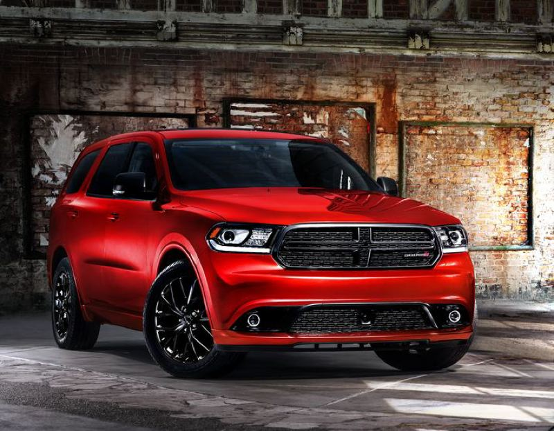 COURTESY FCA US - The 2017 Dodge Durango GT looks sharp with its collor-coordinated body package and special wheels. The standard 3.6-liter V6 provides plenty of power.