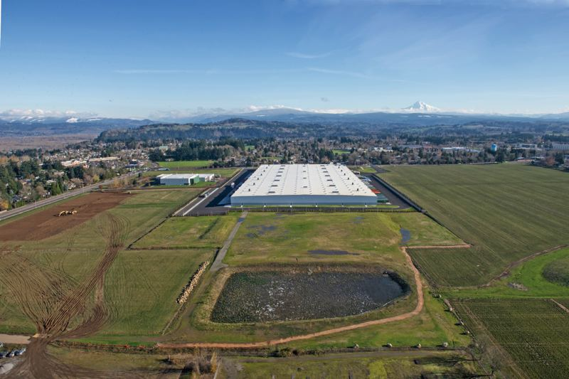COURTESY: PORT OF PORTLAND - The former Reynolds aluminum plant, converted from a brownfield site to an industrial park for FedEx and Amazon.