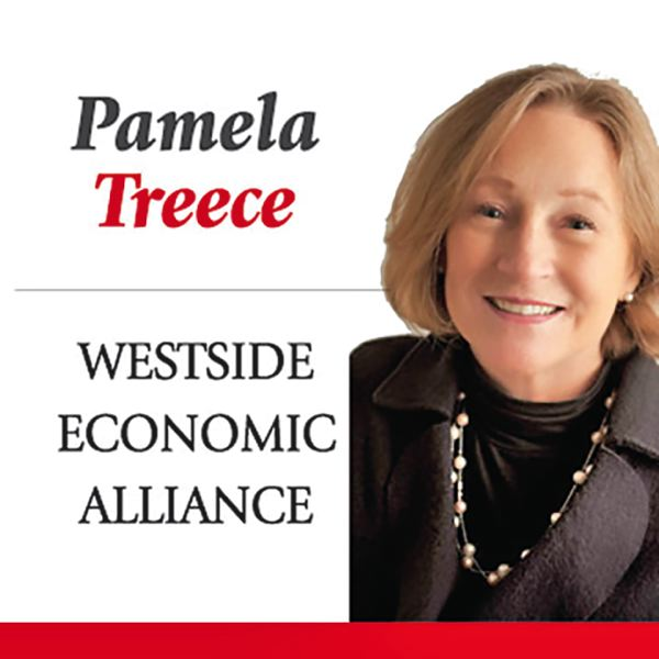 PAMELA TREECE, WESTSIDE ECONOMIC ALLIANCE