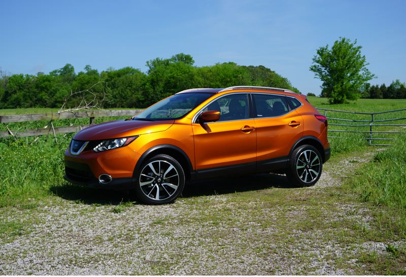 PORTLAND TRIBUNE: JEFF ZURSCHMEIDE - The 2017 Nissan Rogue Sport bears a stong resemblence to the existing larger Rogue crossover.
