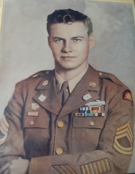 SUBMITTED PHOTO - Staff Sgt. Clifton James of Gladstone served in the U.S. Army for 42 months during World War II.