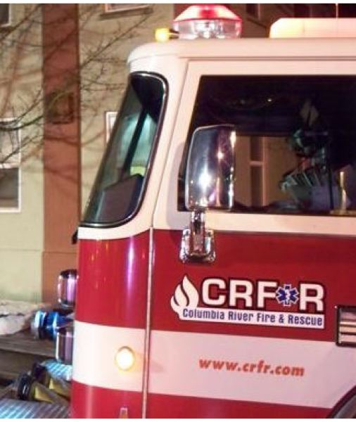SPOTLIGHT FILE PHOTO - Columbia River Fire and Rescue responded to a home in St. Helens where a boy fell from a window last Thursday.
