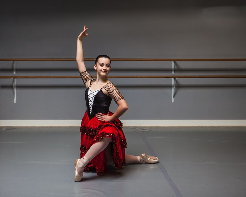 Local ballet students express Spanish flair in  'Don Quixote'