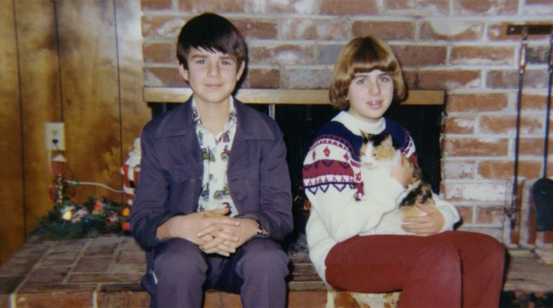 COURTESY: NORTHWEST FILM CENTER - Filmmaker Sandra Luckow (right) sits by the side of her brother, the subject of her movie 'That Way Madness Lies.'