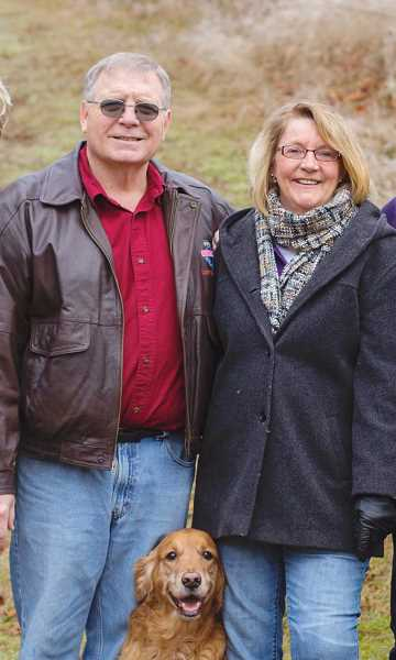 COURTESY PHOTO - Ken and Judy Wallace before the accident in April.