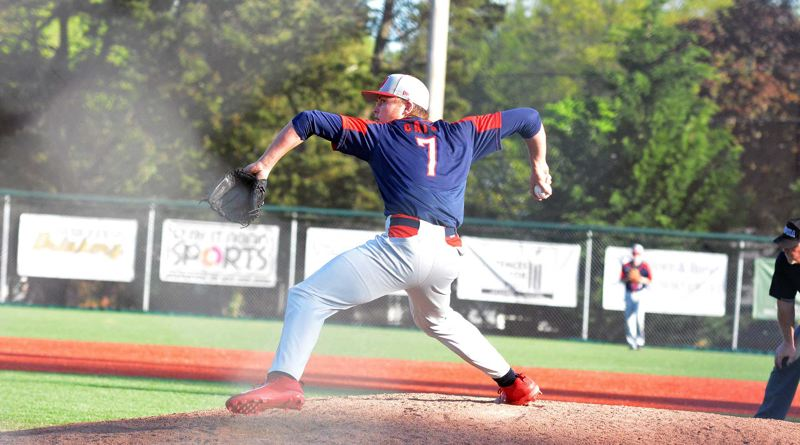 TIMES PHOTO: MATT SINGLEDECKER - Westview junior pitcher Willie Weiss pitched more than six high quality innings against Jesuit.